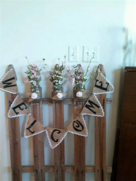 picket fence craft projects 17 best images about fence crafts on gardens