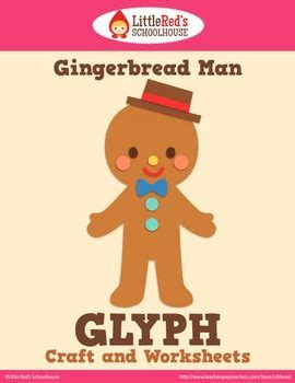 gingerbread man glyph printable crafts gingerbread man and gingerbread on pinterest