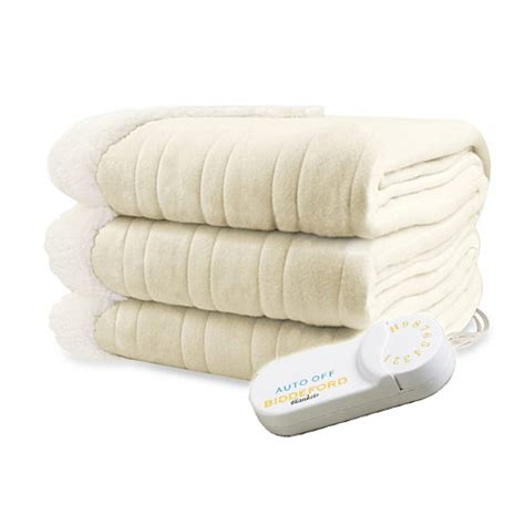 comfort knit heated blanket biddeford analog comfort knit electric heated throw
