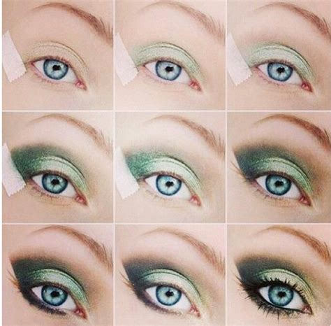 diy green eyeshadow my style green eyeshadow simple eye makeup and eyeshadows