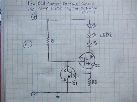 5 watt led driver circuit diagram 700ma led driver lm317 or fet