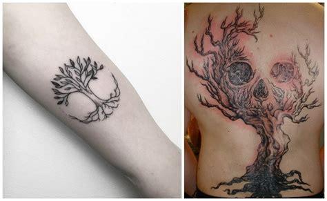 imagenes tatuajes arboles tatuajes de 225 rbol de la vida y su significado dise 241 os y