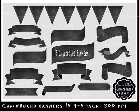 printable chalkboard banner chalkboard banner chalkboard flourishes clip art chalkboard