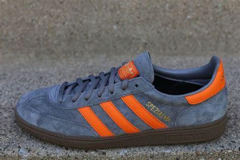 Sepatu Adidas Spezial adidas originals spezial grey orange footwear