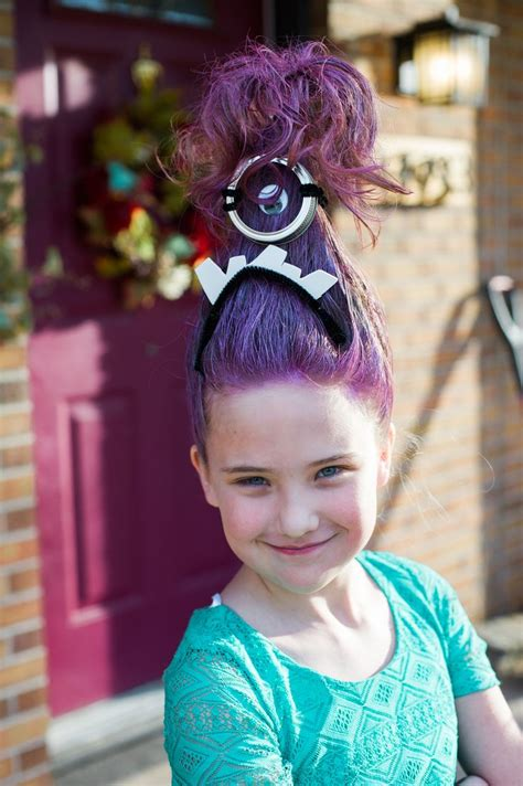 Hair Day 17 best images about wacky hair day on