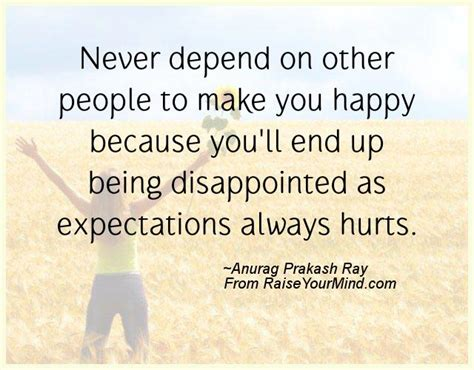 happiness quotes  depend   people    happy  youll