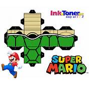 Click The Image Below To Print Out Your Free Super Mario Papercraft