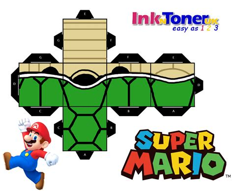 Mario Papercraft - print your own mario papercraft inkntoneruk