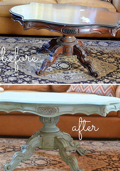 resurface table top ideas 10 inspiring furniture makeovers