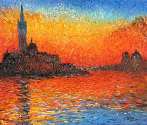Landscape Artists Work 20 Monet Paintings And Landscape Artworks