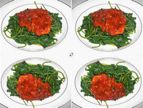 resep sambal asam manis spesial daun ubi jalar aneka