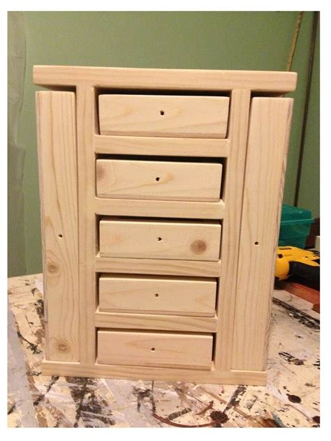 awesome diy jewelry box plans  mens  girls