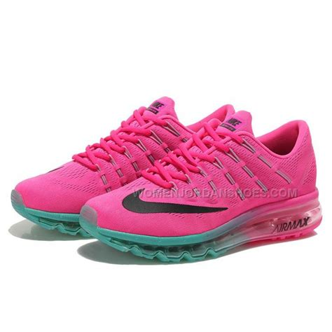 womens air max sneakers womens nike air max 2016 running shoes pink green black