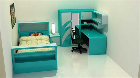 gambar desain kamar london mainan anak