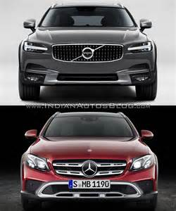 What Country Is Mercedes From Volvo V90 Cc Vs Mercedes E Class All Terrain In Images