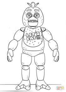 Fnaf 1 Coloring Pages by Fnaf Chica Coloring Page Free Printable Coloring Pages