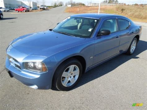 2007 marine blue pearl dodge charger sxt 74157362