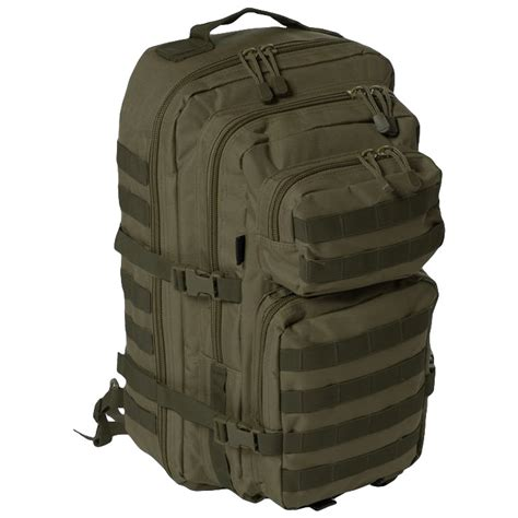 molle backpack straps large padded one assault sling pack