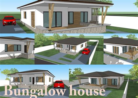 bungalow design house with 3 bedroom 150 square meters bungalow design house with 3 bedroom 150 square meters