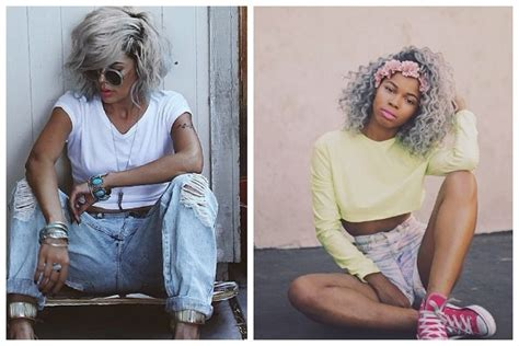 young black women with gray hair styles stunning best hairstyle for gray hair contemporary