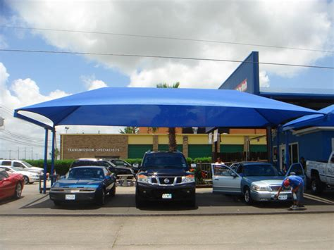 vehicle shade awning car wash shade structures shade sails canopies awnings