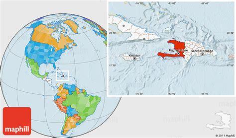 world map haiti location plate techtonic research project thinglink