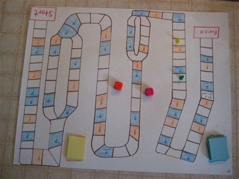 math pattern board games easy fun diy math board game for kids education