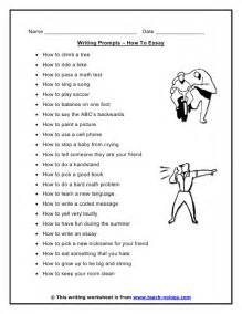 Essay Writing Activities by Essay Writing Prompts Essays And Other Writing Activities For Early Writers