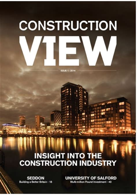 Construction View Magazine   Red Van Plumbers