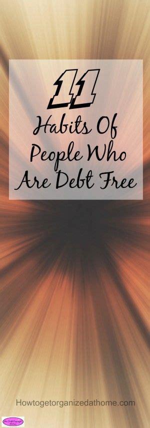 habits  people   debt  budgeting