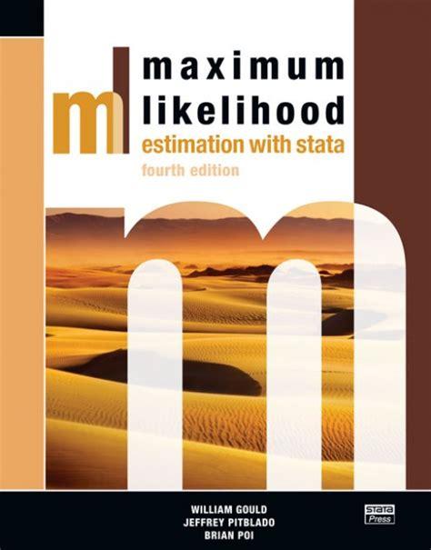 Ebook Stata 5 maximum likelihood estimation with stata 4th edition