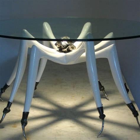 Custom White Tarantula Coffee Table By Michael Wilson Tarantula Coffee Table