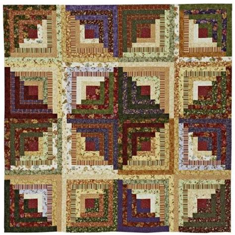 creative log cabin layout quilting logs
