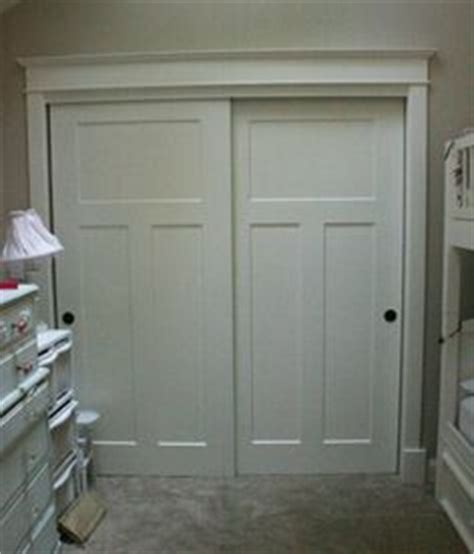 Thin Closet Doors We Just Put Wainscoting On Our Broken Mirrored Closet Door In Our Guest Room Hinges Here A