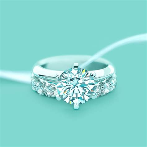 tifany set the 174 setting band rings wedding and jewelry