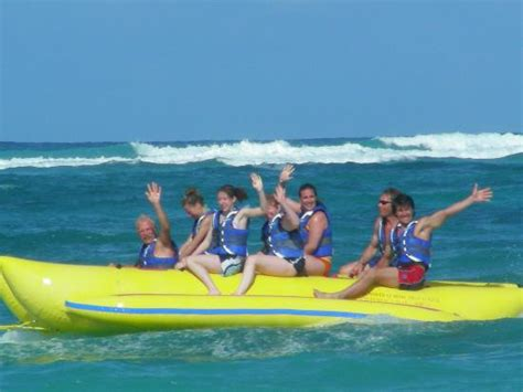 banana boat picture banana boat picture of punta cana princess all suites