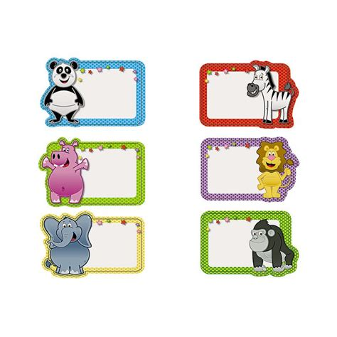 Printable Zoo Animal Name Tags | zoo animal name tags orientaltrading com name tags