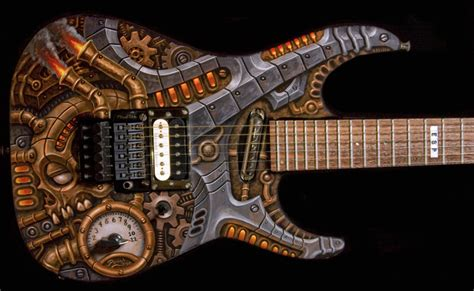 steampunk guitar by tat2pooch on DeviantArt