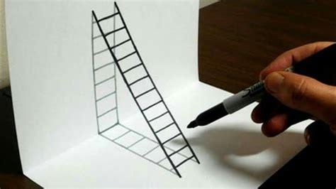imagenes para dibujar a lapiz en 3d faciles como hacer un dibujo 3d f 225 cil y sencillo tutorial youtube