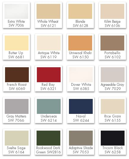 classic colors color resource guide certapro painters 174 of anoka