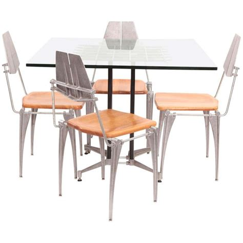 robert table l robert josten table and chairs for sale at 1stdibs