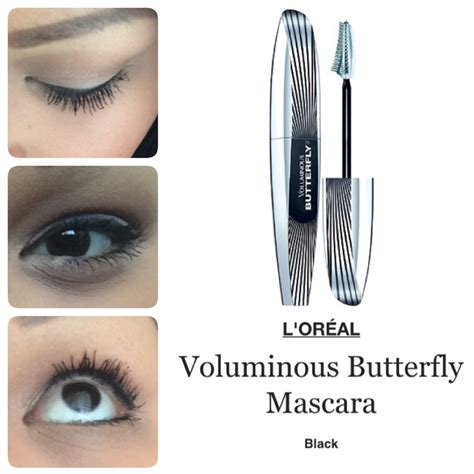 Maskara Loreal Butterfly review l oreal voluminous butterfly mascara the dainty bird