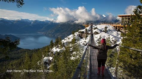 52 places to go in 2017 canada is our no 1 pick for 52 places to go in 2017 walk
