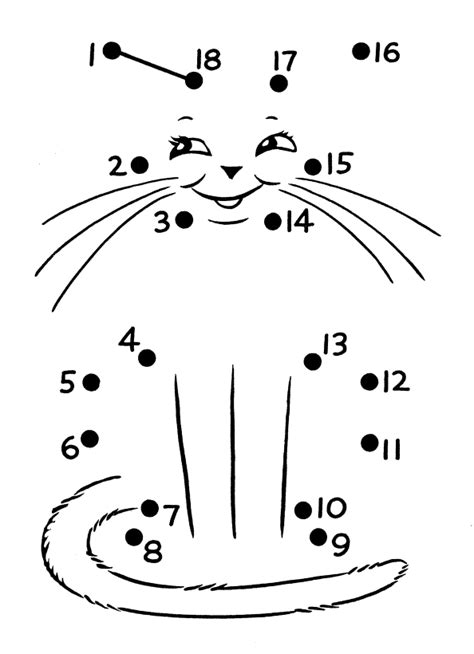 Free Coloring Pages Of Dot To Dots 1 20 Dot To Dot Coloring Pages