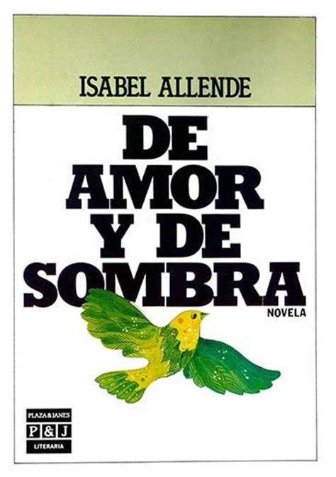 libro of love and shadows isabel allende libros preferidos actors
