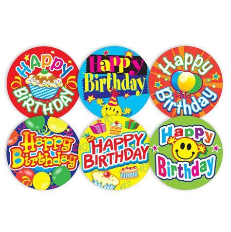 happy stickers happy birthday stickers school merit solutions