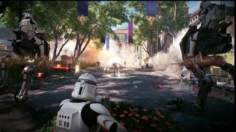 arrived  star wars battlefront  multiplayer trailer