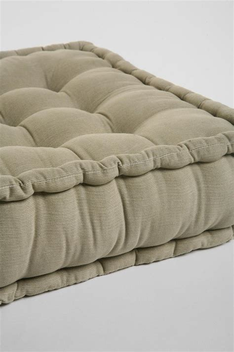 floor pillow tufted corduroy floor pillow