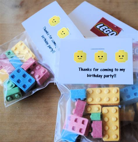 Birthday Giveaways - lego birthday party ideas crazy little projects