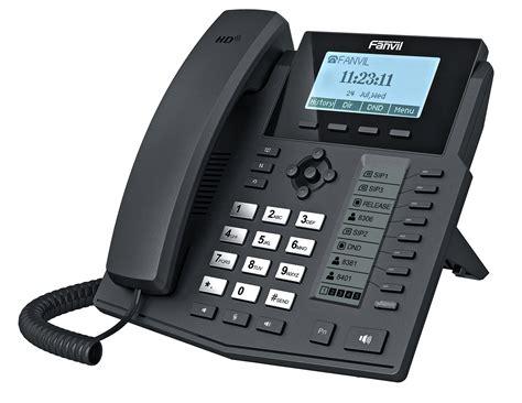 Fanvil X4 High End Enterprise Desktop Ip Phone Poe voipdistri voip shop fanvil x5g gigabit ip telefon mit selbstbeschriftende funktionstasten